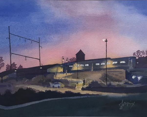 Julia Rix EP Train Station Nocturne
